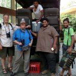 2018-Jan Sri Lanka-Adrian Deb Rajiv Supun-Mandara Rosen Hotel near Yala-by DEB BEER