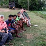 2018-Jan Sri Lanka-Birders at Tissa wetlands-by DEB BEER