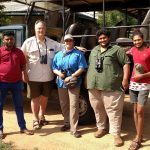 2018-Jan Sri Lanka -Sampeth Adrian Deb Rajiv Supun-Bundala National Park-by DEB BEER